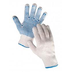 TR07 Pletené bezešvé rukavice