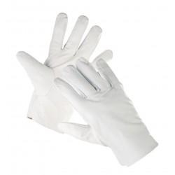 CR15 Celokožené rukavice z lícové kozinky, bez manžety