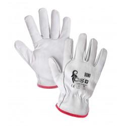 CR20 Celokožené rukavice z lícové kozinky