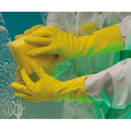 NR02 Latexové rukavice s velurem uvnitř