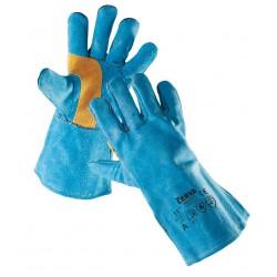SR07 celokožené rukavice z hovězí štípenky
