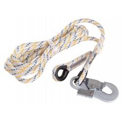 DZ04 Pomocné lano s karabinou 2,5 m