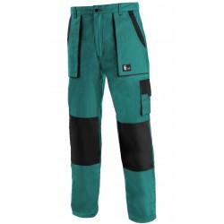 KP45Z Pánské kalhoty do pasu zeleno-černé Lux