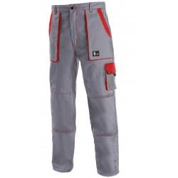 KP45S Pánské kalhoty do pasu čedo-červené Lux