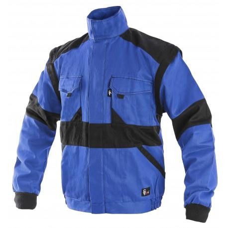 KP29-1M Pánská blůza modro-černá Lux prodloužená