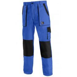 KP45M Pánské kalhoty do pasu modro-černé Lux