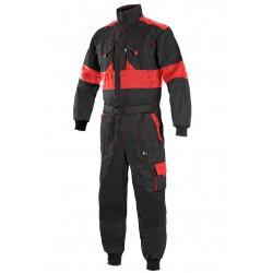 KP25C Kombinéza Lux černo-červená