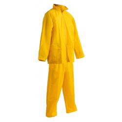 KP38ZL Dvoudílný voděodolný oblek žlutý