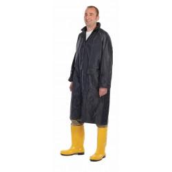 KP39M Voděodolný plášť s kapucí modrý