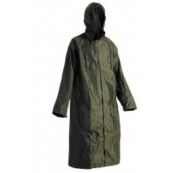 KP39Z Voděodolný plášť s kapucí zelený