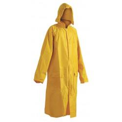 KP39ZL Voděodolný plášť s kapucí žlutý