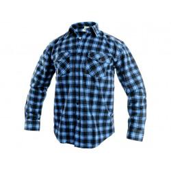 KP27M Košile flanelová modro-černá