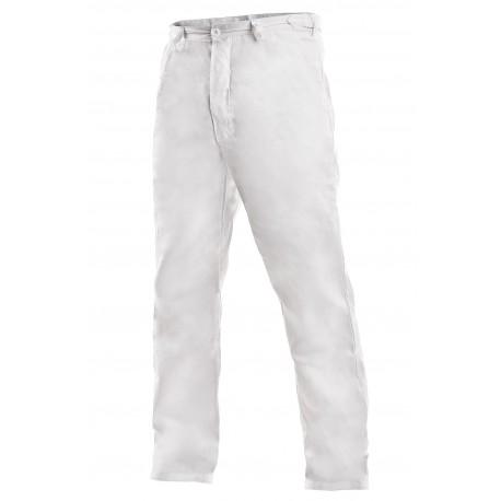 OB01 Kalhoty pánské bílé
