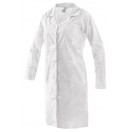 OB03D Plášť dámský bílý
