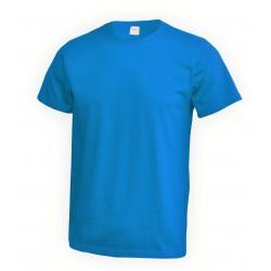 001-23 Tričko pánské tyrkysové