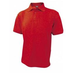053-04 Polokošile pánská červená