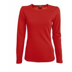 041-02 Tričko dámské dlouhý rukáv černé