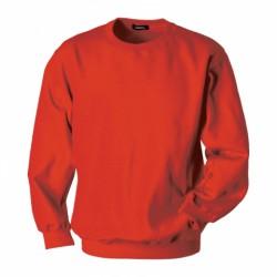 MS08-04 Mikina pánská s náplety červená