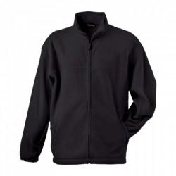 058-02 Mikina pánská fleece černá