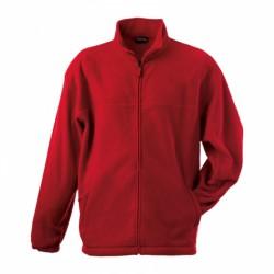 058-04 Mikina pánská fleece červená