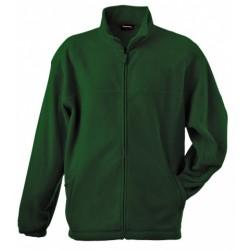 058-08 Mikina pánská fleece zelená