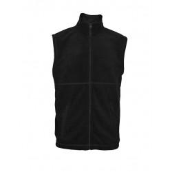 MVF13-02 Vesta pánská fleece černá