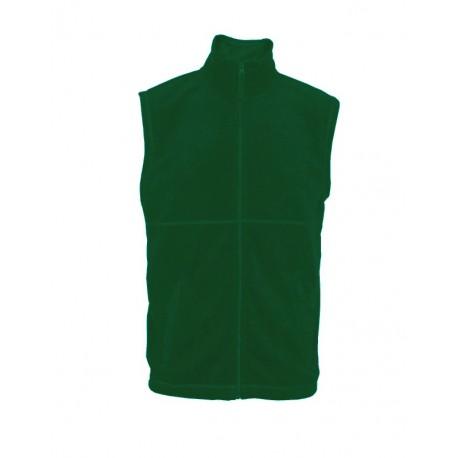 MVF13-08 Vesta pánská fleece zelená