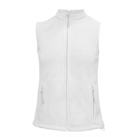 LVF14-01 Vesta fleece dámská bílá