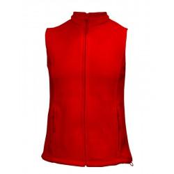 LVF14-04 Vesta fleece dámská červená