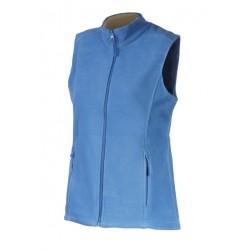 LVF14-09 Vesta fleece dámská modrá