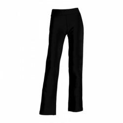 061-02 Kalhoty dámské strečové černé