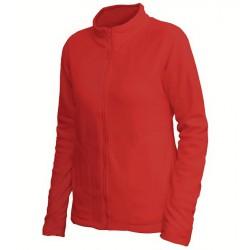 0680-04 Mikina dámská fleece červená