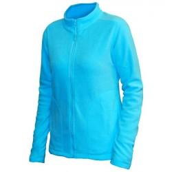 0680-60 Mikina dámská fleece modrá atol