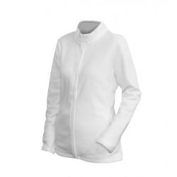0100N-01 Mikina dámská fleece bílá