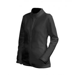 0100N-01 Mikina dámská fleece černá