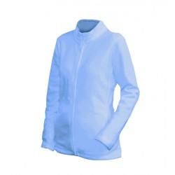 0100N-19 Mikina dámská fleece nebesky modrá