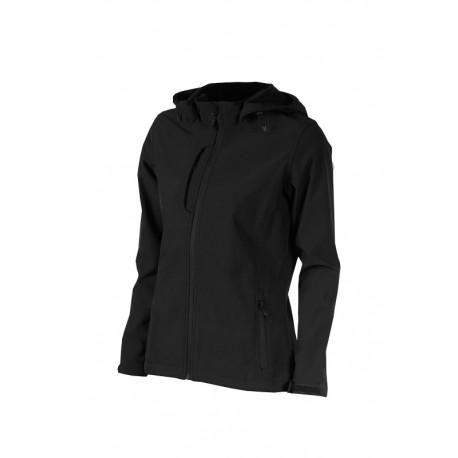 0706K Bunda dámská softshell černá