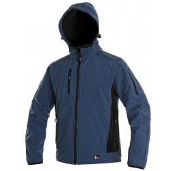 OZ1609MC Pánská softshell bunda modro černá