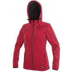 OZ1611C Dámská softshellová bunda červená