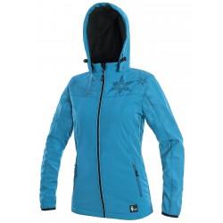 OZ1611M Dámská softshellová bunda modrá