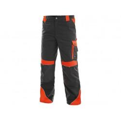 KP96SC Kalhoty pasové Brighton šedo červené