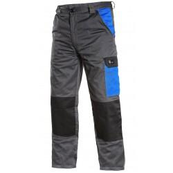 KP151 Kalhoty pasové Phoenix šedo modré
