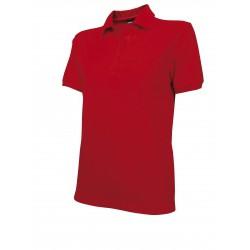 073CRV Polokošile dámská červená