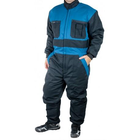 KP19 Kombinéza zimní zateplená černo modrá