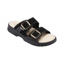 PO161CRN Zdravotní pantofel dámský černý
