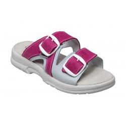 PO161-2RS Zdravotní pantofel dámský růžový