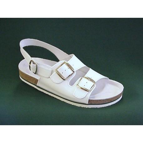 PO88 Zdravotní sandál pánský bílý