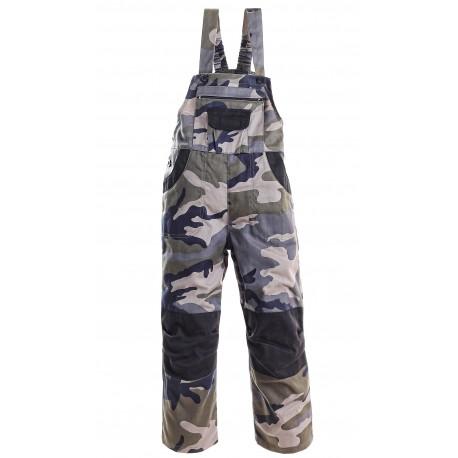 KP160 Kalhoty laclové dětské maskáčové