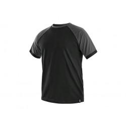 C001CS Tričko pánské černo šedé