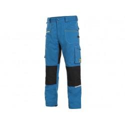 KP161BC Pánské kalhoty stretch do pasu béžovo černé